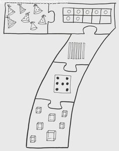 Top 40 Examples for Handmade Paper Events - Everything About Kindergarten Numbers Preschool, Preschool Curriculum, Math Numbers, Montessori Activities, Preschool Worksheets, Preschool Activities, Number Sense Kindergarten, Beginning Of Kindergarten, Teaching Kindergarten