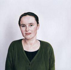 Simone, 50 x 50 cm, oil on canvas, 1994.