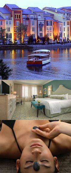 Loews Portofino Bay Hotel Spa Offers an Escape to Old Italy #Travel #Portofino #Spa