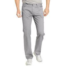 IZOD Regular-Fit Twill Pants - Men
