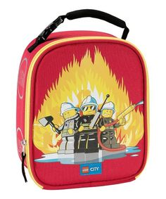 61cb647f8 Carry Gear Solutions | LEGO® City Fire Lunch Bag