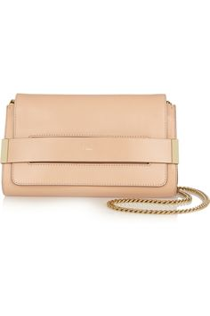 Chloé|Elle small leather shoulder bag|NET-A-PORTER.COM