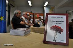 """Campomaiornews: Apresentado na CURPI Campo Maior o livro """"A Resist..."""