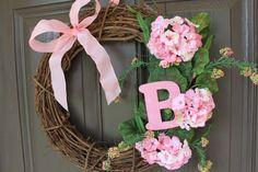 Baby Girl Wreath cute for Jill's door