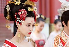 Image result for fan bingbing lady of the dynasty Wu Zetian, Fan Bingbing, Art Forms, Beautiful Images, Art Photography, Drawings, Lady, Artwork, Cute