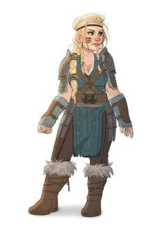 Female Dwarf Shaman - Pathfinder PFRPG DND D&D 3.5 5th ed d20 fantasy