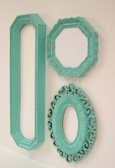 Shabby Chic Mirrors Cottage Ornate Frames by MountainCoveAntiques, $74.00