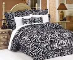 Zebra print bedding sets are fun for decorating your bedroom. You can give your bedroom a whole new look with zebra print bedding and pillows.  Click...