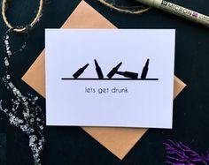 Treat Yo Self Card. Humor Birthday Card. Best by DoverCardCo