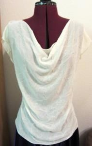 Tutorial of the week - The easy slinky chiffon blouse. Have an hour and a yard of chiffon? Get to crackin!