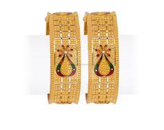 Gold Ring Designs, Gold Bangles Design, Gold Jewellery Design, Gold Wedding Jewelry, Gold Jewelry, Jewelery, Gold Ring Indian, Gold Mangalsutra Designs, Bridal Bangles