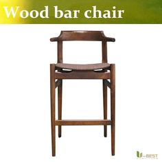 Free shipping U-BEST Restaurant Bar Stools,Upholstered Wood Bar Stool,Fabric and PU underside backer sheet option is available