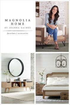 Magnolia Home by Joanna Gaines furniture collection at Living Spaces. Joanna has designed each piece to be family-friendly and comfortably livable - her authenticity shines through in every detail.