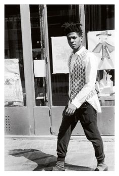 Basquiat. Love you for many a reason. But mostly because I wore this same outfit like yesterday.