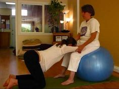 yoga ball positions for pregnancy and labor, some great tips