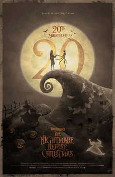 Original Giclee Art Print 'The Nightmare Before by DigitalTheory