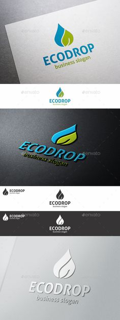 Natural Drop Logo Template – An excellent logo template which is perfect for Ecology, Natural, Green, Water, Medical, Oil, Oil Gas, Drops, Spa, Organic, Beauty Company, Technology Business, any start up company, etc.  Simple, unique and professional logo template.