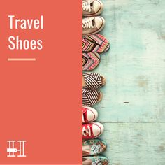 Travel Shoes & Shoe Packing Tips by Her Packing List Her Packing List, Packing Tips, Travel Shoes, Hiking Shoes, Comfortable Shoes, Comfy Shoes, Travel Packing Tips, Hiking Boots