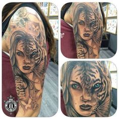 Fantastic sleeve work tattooed in the studio by Greg. contact us at holytrinitytattoos@mail.com