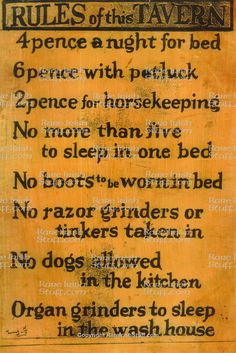 1  Rules of  This  Tavern  Thumbnail0