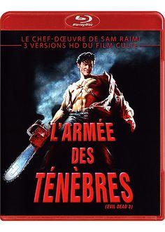 Test du Blu-ray L'ARMÉE DES TÉNÈBRES (EVIL DEAD 3 - 1992) de Sam Raimi avec Bruce Campbell : http://www.dvdfr.com/dvd/c156048-evil-dead-3-l-armee-des-tenebres-le-test-complet-du-blu-ray.html