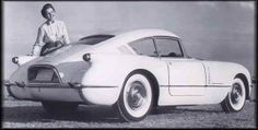 Corvair concept, only one of these, the other is the same car repainted.