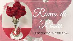 Como hacer un ramo de rosas, reciclando un cinturón # En este tutorial vamos a ver cómo hacer un ramo de rosas, reciclando un cinturón que no usamos. Nos puede servir, además de decorar una estancia, para ambientador si le añadimos perfume a las rosas, ... »