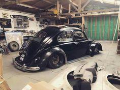 Black volkswagen bug ☆°~°☆