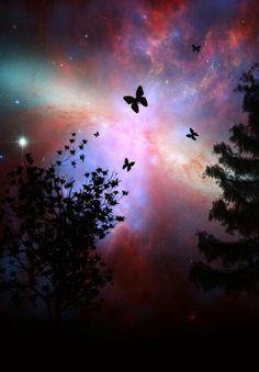 Galaxy+nature lovee