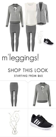 """""""m'leggings for spring"""" by clothesdeb ❤ liked on Polyvore featuring CAbi, adidas and CAbiclothing"""