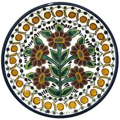 Dinnerware Pattern 20 ♥️♣️♣️Talavera Mexican Pottery : More At FOSTERGINGER @ Pinterest ♣️