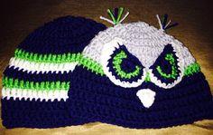 Baby seahawks hats