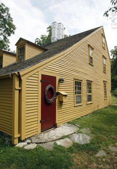 Parson Barnard House c1715 North Andover, MA