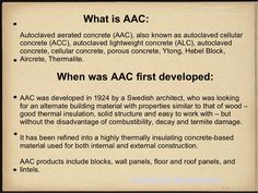Autoclaved aerated concrete (AAC), also known as autoclaved cellular concrete (ACC), autoclaved lightweight concrete (ALC), autoclaved concrete, cellular concr… Hebel Blocks, Autoclaved Aerated Concrete, Aac Blocks, Concrete Blocks, Cavities, Construction, Survival, Architecture, Business