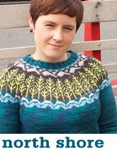 North Shore pullover by Tin Can Knits Knitting Charts, Hand Knitting, Knitting Patterns, Cardigan Pattern, Knit Cardigan, Baby Sweaters, Knitting Sweaters, Sweater Design, North Shore