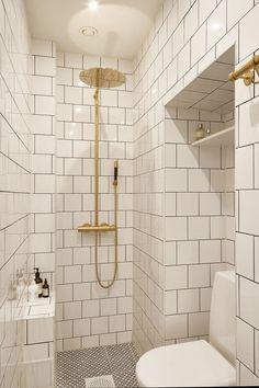 Hjärnegatan Bathroom mässing svart vitt Fantastic Frank