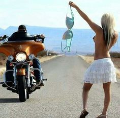 All kinds of stuff. Next time you need a ride. Forget sticking out your thumb. Female Cop, And So The Adventure Begins, Mans World, Harley Davidson, Actresses, Hot Video, Mandalay, Bikers, Helmets