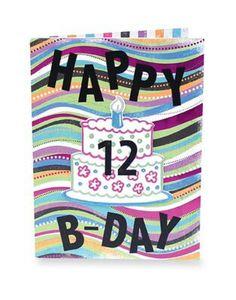 B-DAY... CARD!!!