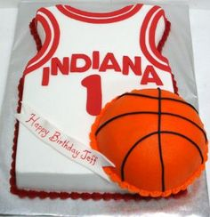 Image detail for -Basketball Jersey Cake Group Picture Image By Tag Keywordpictures Cake . Novelty Birthday Cakes, Adult Birthday Cakes, Birthday Ideas, 70 Birthday, Basketball Birthday, Basketball Jersey, Basketball Cakes, Basketball Party, Owl Cakes