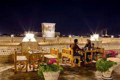 Top  Roof Restaurant in Iran