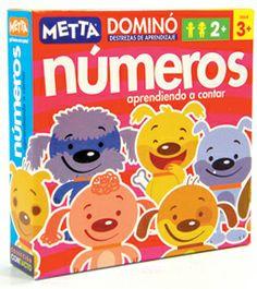 Dominó Números ¡Diversión y aprendizaje garantizados! #juegosmetta