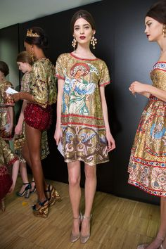 Fall fashion Dolce and Gabbana