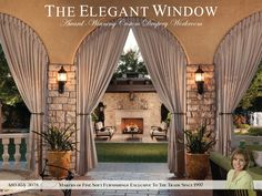 Our source @elegantwindow is an award-winning, custom drapery and soft goods workroom offering services exclusively to the interior design trade. #ad  http://sourcesfordesign.com/issue2#26