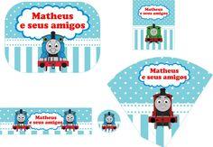 Festa Personalizada Thomas e Seus Amigos | Festa Personalizada da Mamae | Elo7