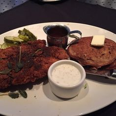 Yard House, The Linq - Nashville Chicken W/ Sweet Potato Pancakes - Foodspotting