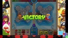 Bloons TD Battles Defensive Mode Online (403 win) ROUND 54!!!