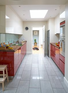 modern kitchen floor tilelink renovations #linkrenovations