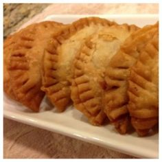 Paleo Beef Empanadas.  This makes me so happy!  My husband will be happy,  too.