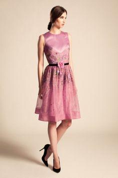 Temperley London Resort 2014 Fashion Show Fashion Show, Fashion Outfits, Fashion Design, Runway Fashion, Women's Fashion, Fashion Trends, Cute Dresses, Short Dresses, Pink Dresses