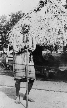 Elderly Miccosukee man by State Library and Archives of Florida, via Flickr